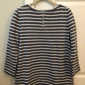Lou & Grey Tops - Striped Sweatshirt